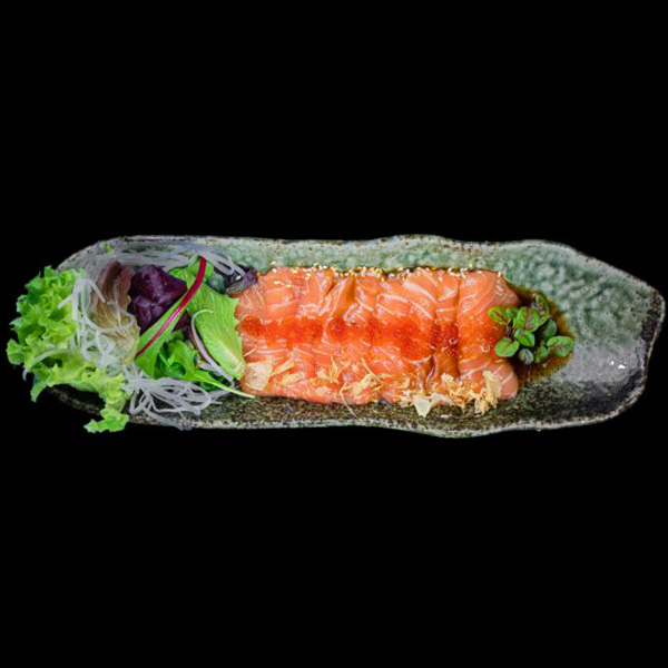 93 Salmon Carpaccio (9 STK.)